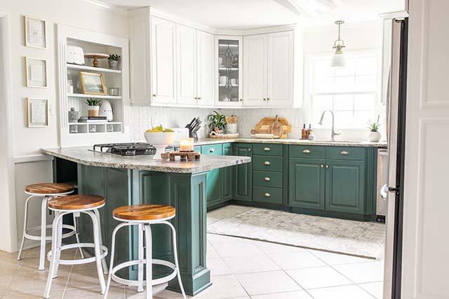 percantik area dapur