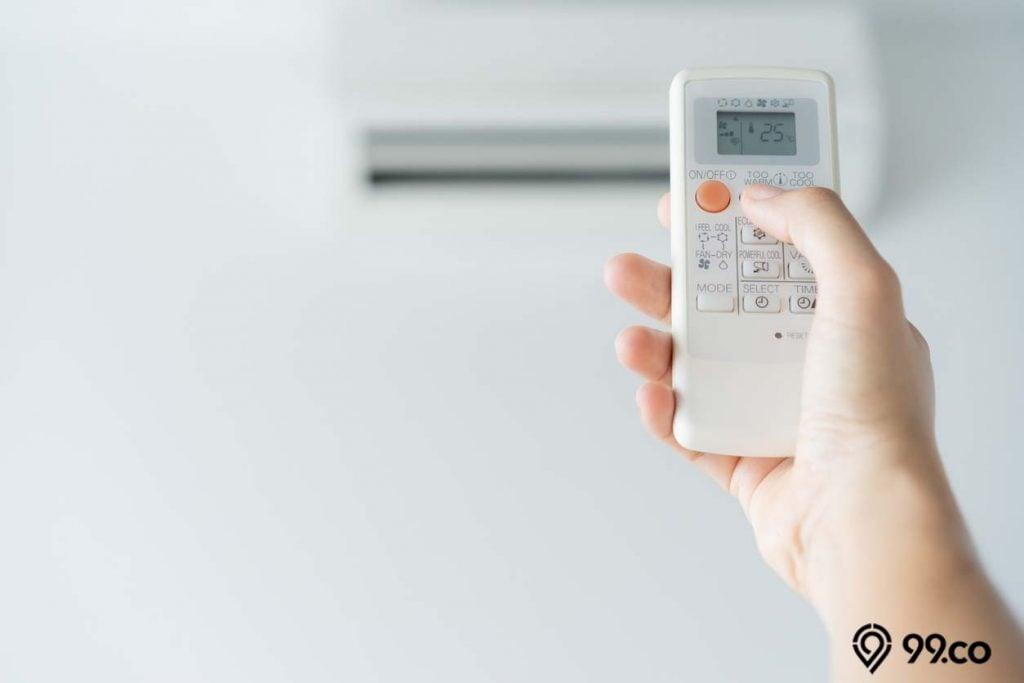 menjaga suhu ruangan ideal