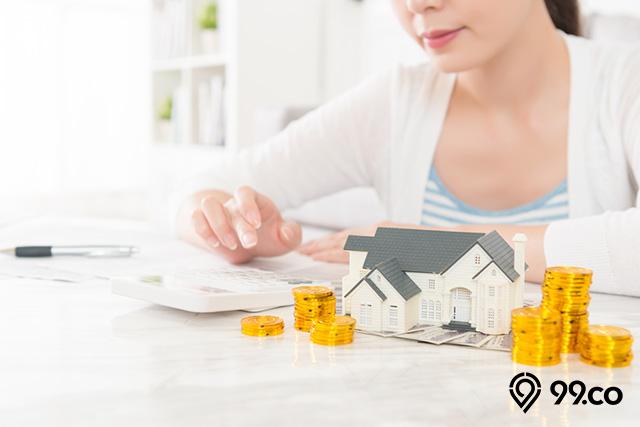 menghitung biaya cicilan dp rumah