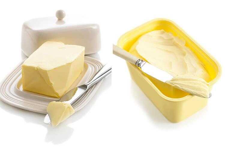 aroma mentega dan margarin