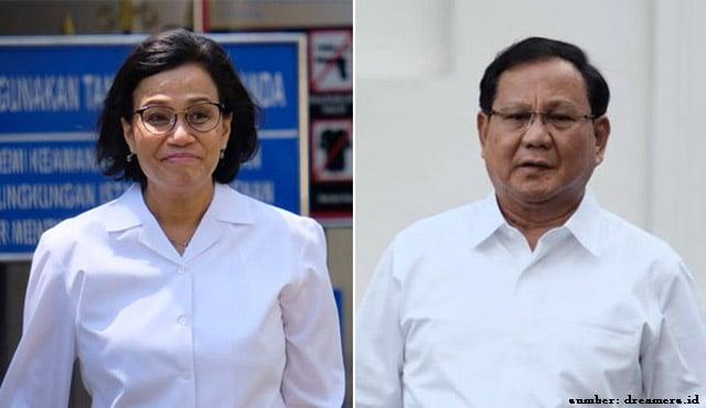 Survei Membuktikan! Prabowo & Sri Mulyani Jadi Menteri Terbaik Jokowi