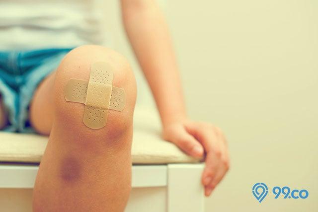 manfaat wortel luka di lutut
