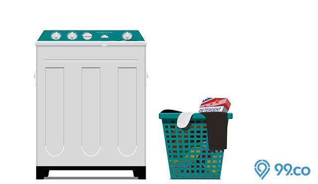 Daftar Harga Mesin Cuci 2 Tabung Terbaru 2021. Mulai dari Rp700 Ribuan!