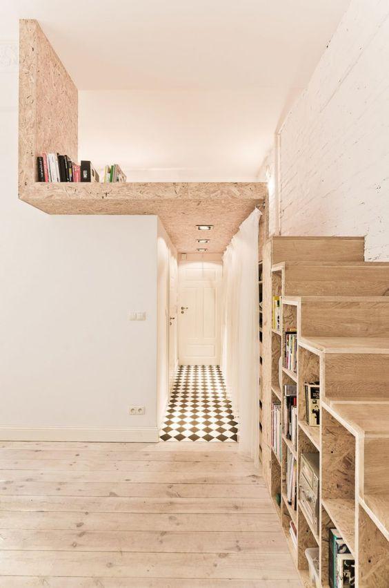 mezzanine kayu