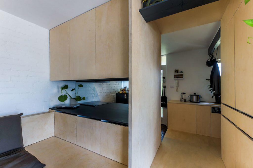 desain rumah micro house