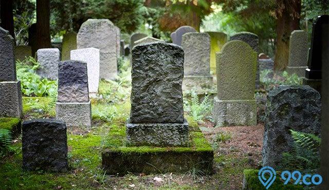 mimpi melihat kuburan sendiri