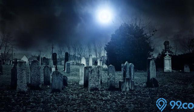 arti mimpi melihat kuburan gelap