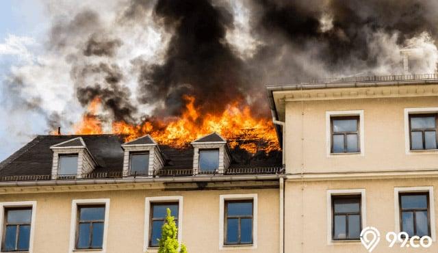 arti mimpi rumah tetangga kebakarana