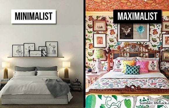 desain minimalis vs maksimalis