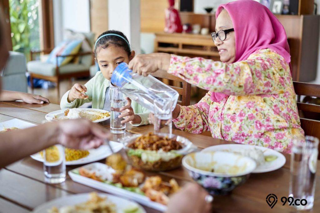 cara mengurangi nafsu makan dengan minum air putih