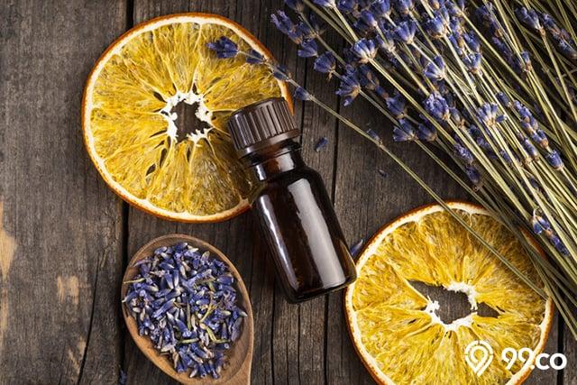 minyak esensial oil jeruk