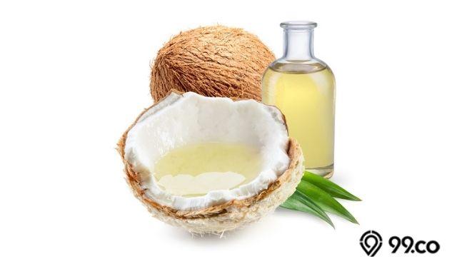 minyak kelapa sebagai obat panas dalam