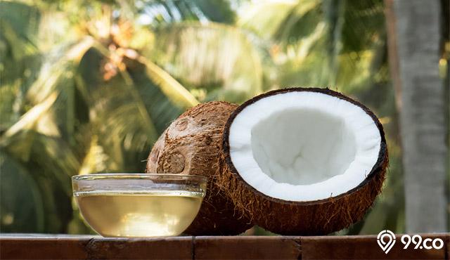 minyak kelapa untuk menumbuhkan rambut