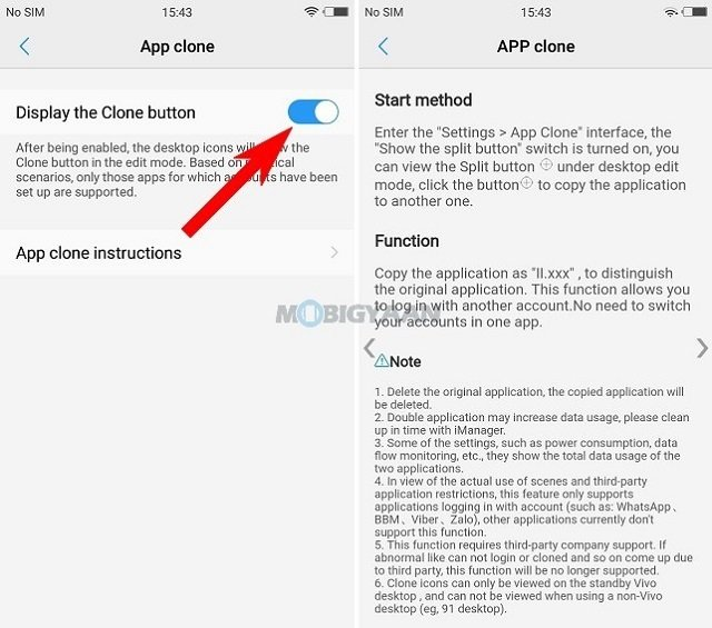 cara menggunakan dua akun WhatsApp dalam satu hp via App Clone