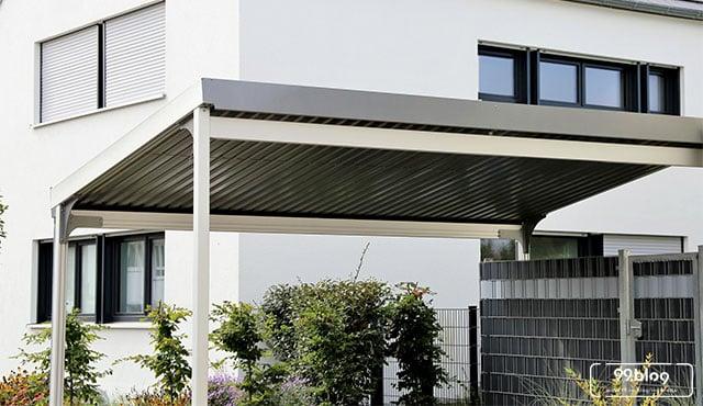 10 Model Kanopi Baja Ringan Untuk Garasi Rumah Inspirasi Terbaik