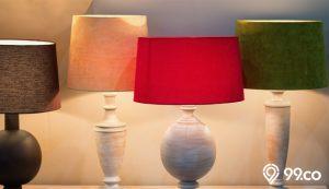 model kap lampu