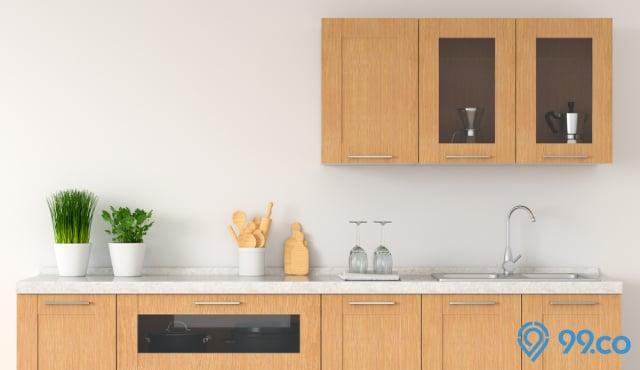 11 Model Lemari Dapur Bikin Area Memasak Jadi Rapi Cantik