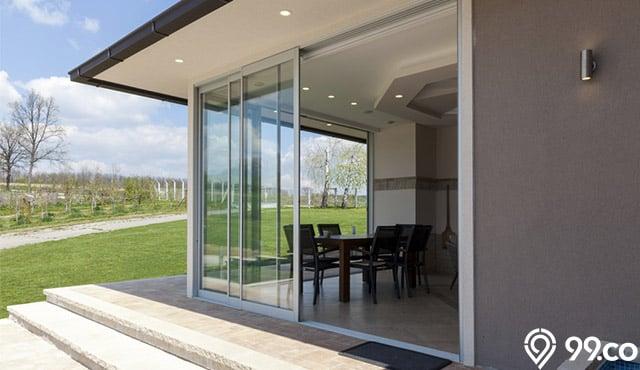 8 Inspirasi Model Pintu Aluminium untuk Rumah Modern Minimalis
