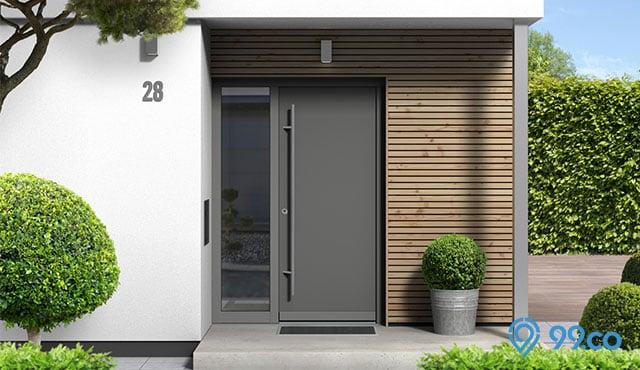 8 Inspirasi Model Pintu Rumah Minimalis dari Kayu dan Besi
