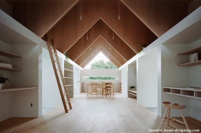 model plafon kayu