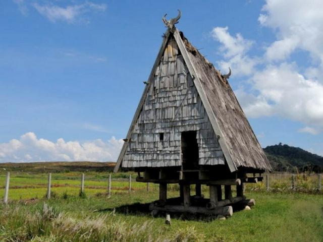 keunikan rumah adat tambi
