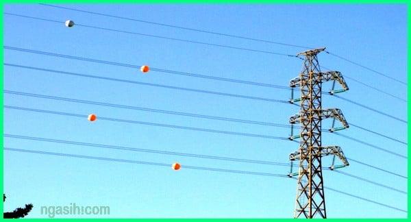 bola kabel listrik