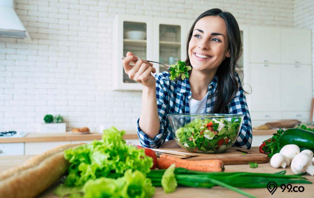 perhatikan nutrisi adalah tips awet muda penting