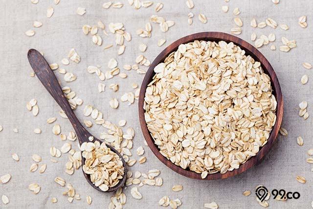 oatmeal pengganti nasi