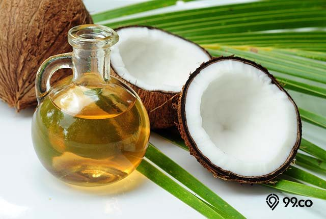 minyak kelapa untuk obati jamur