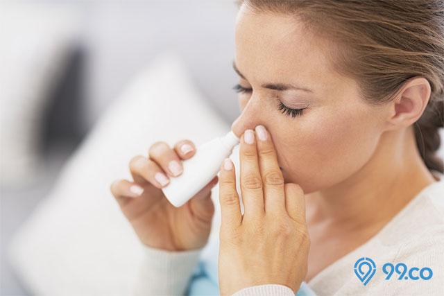 cara mengatasi hidung mampet