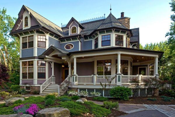 desain rumah victorian classic