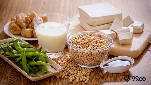 manfaat kacang kedelai untuk jantung