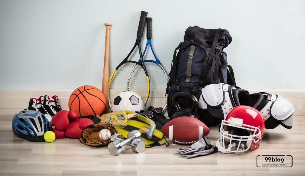 7 Inspirasi Daur Ulang Barang Bekas Olahraga Jadi Alat Rumah Tangga