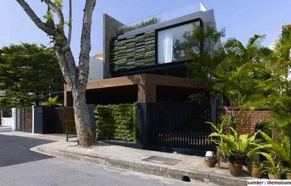 pagar rumah yang bagus