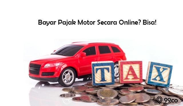 bayar pajak motor online