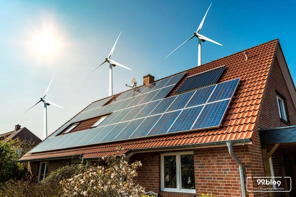 cara menghemat listrik panel surya