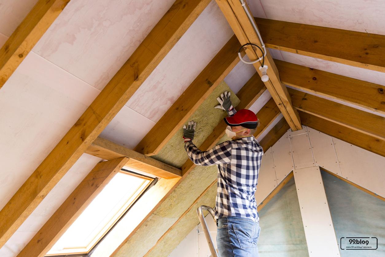 pemasangan atap go green