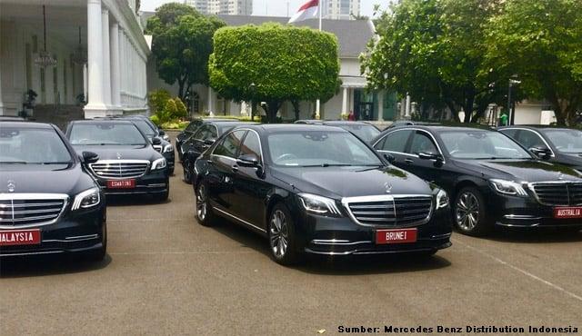 mobil mewah pelantikan presiden