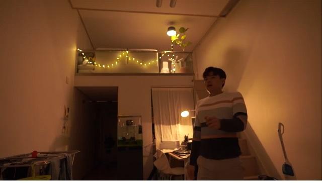 area utama apartemen Jang Hansol