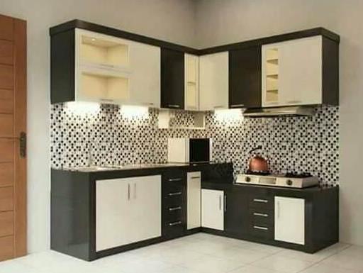 layout l kitchen set