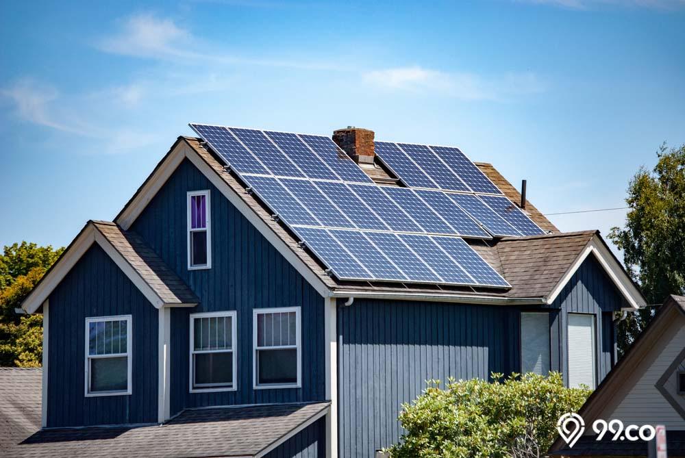 penggunaan panel surya