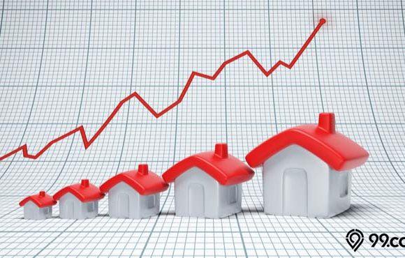 penjualan rumah meningkat