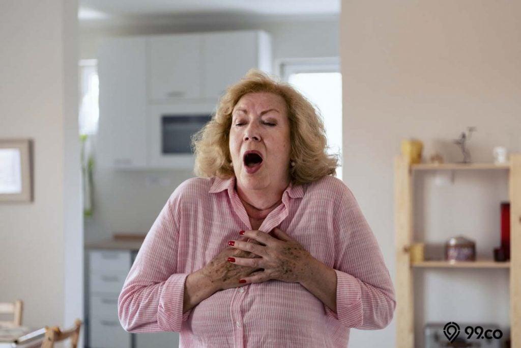 meningkatnya risiko penyakit jantung