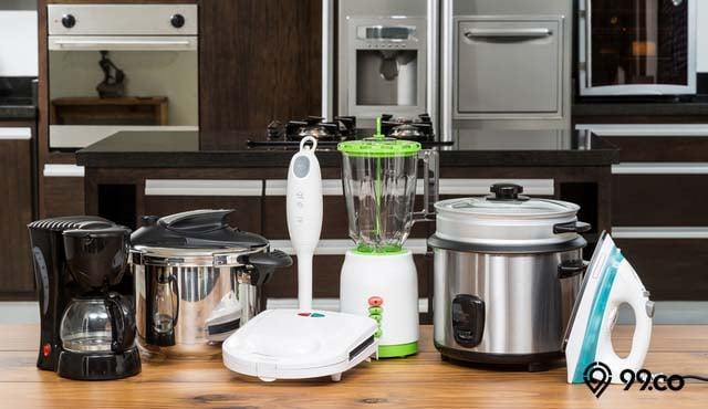 peralatan dapur elektronik