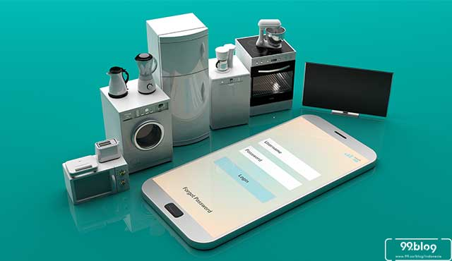 peralatan rumah tangga modern