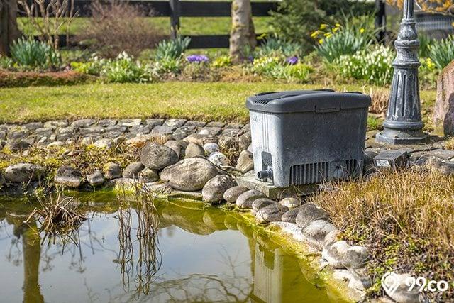 filter air kolam ikan