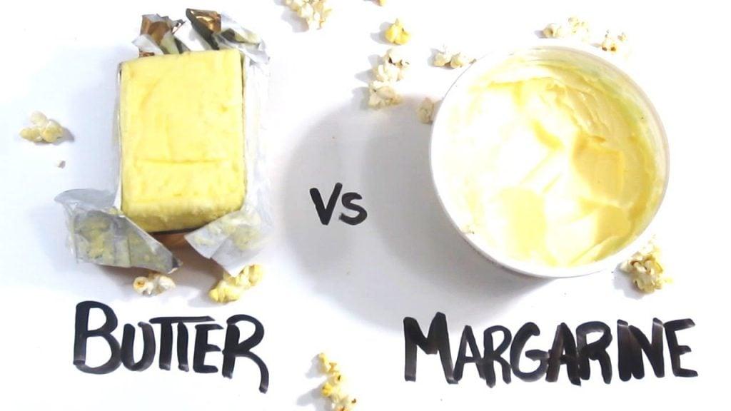 tekstur margarin dan mentega berbeda