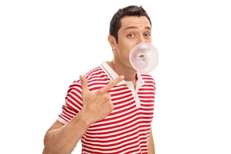 cara menghilangkan bau pete permen karet