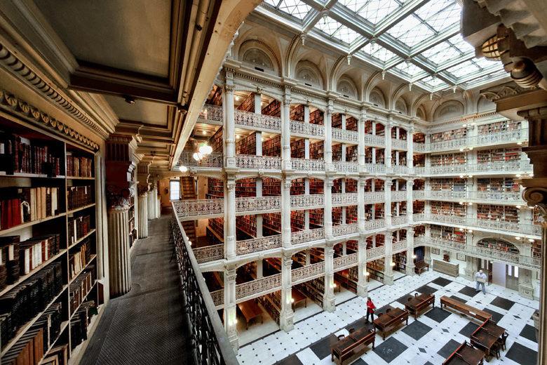 perpustakaan george peabody