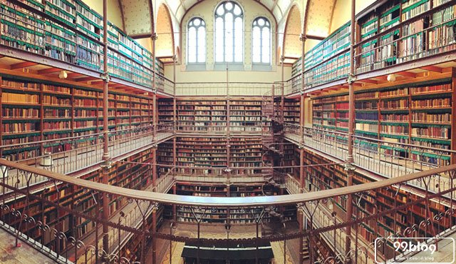 perpustakaan terbesar di dunia